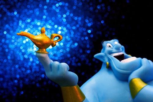 Google Genie es el homologo del genio de Aladin